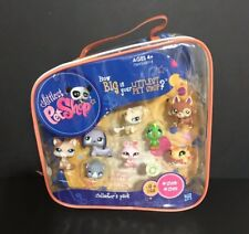 Littlest Pet Shop Collector's Pack 8 pets 1362 1369 Dog Cat Lot New in Package