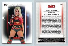 Alexa Bliss #R-13 WWE Womens Division 2017 Topps Trading Card