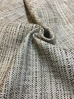 MARK & SPENCER / NEXT BROWN CHENILLE UPHOLSTERY FABRIC 1.3 METRES