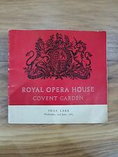 """""""Swan Lake"""" Programme Royal Opera House Covent Garden - Wednesday 2nd June 1965"""