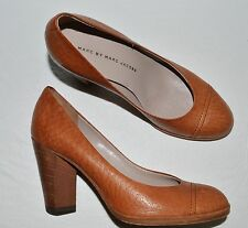 MARC BY MARC JACOBS  5.5 6 M 36 BROWN LEATHER PLATFORM PUMPS HEELS SHOES