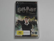 PSP GAME HARRY POTTER AND THE ORDER OF THE PHOENIX