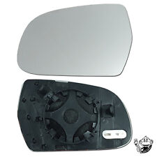 Fits AUDI A3 PASSENGER SIDE (LEFT) WING MIRROR GLASS - HEATED 2010-2013