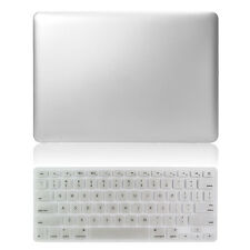 Metal Color Hard Case Silicone Keyboard Cover fr Macbook Pro Retina Air 11/13/15