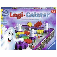 RAVENSBURGER Kinderspiel Logi-Geister Lernspiel Brettspiel Logikspiel ab 5 Jahre
