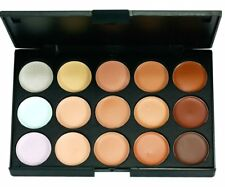 15 Color Palette Concealer Camouflage Eyeshadow with 7pcs Make Up Brush