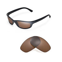 New Walleva Polarized Brown Replacement Lenses For Ray-Ban RB4115 Sunglasses