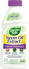 Pest Control Spray Neem Oil Extract 16 fl. oz. Insecticide Fungicide Miticide