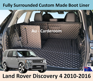 Land Rover Discovery 4 Premium Custom Made Trunk Boot Mats Liner Cargo Cover