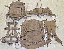 USMC FILBE Main Assault Pack Ruck Coyote Brown Bag Frame Shoulder Straps Waist