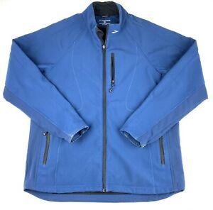 Brooks Shelter Technology Men's Running Jacket Color Blue Size Large Full Zip