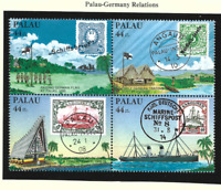 Palau Stamps Scott #C6 To C9, Mint Never Hinged