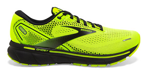 NEW Brooks Ghost 14 Running Shoes Nightlife Black Men's Sizes 8-14 FREE SHIPPING