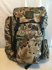 Stearns Mad Dog Gear Mossy Oak Advantage Timber Camo Hunting Backpack Euc!