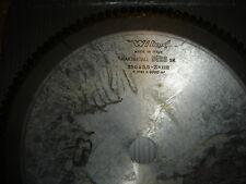 LAME CARBURE D.350 MM 112 DENTS AL.30 MM NEUVE