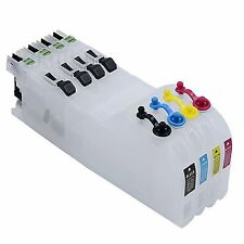 4 XL Refillable Ink Cartridge For Brother LC223 MFC-J5625DW J5720DW DCP-J4120DW
