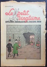 TINTIN Le Petit Vingtième n°2 du 12 janvier 1939 État correct