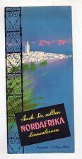 brochure depliant turistico - AUCH SIE SOLLTEN NORDAFRIKA