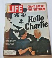 April 21, 1972 LIFE Magazine Vietnam Nam Chaplin Silva Mind Control 4 FREE SHIP