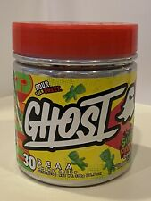 Ghost BCAA Amino Acids Sour Patch Muscle Recovery 10.5oz New Watermelon