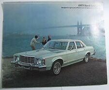 1977 Ford Granada Sales Brochure