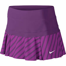 Women's NIKE Victory Printed Tennis Skirt / Skort - Size Large - Berry/Fuschia