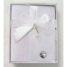 Baby - Satin Christening Photo Album with Heart and Cross