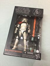 star wars black series 6?  Sandtrooper BOX DAMAGE see pic Sealed box ?
