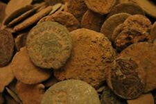 10 Ancient Roman Coins Rome Coin Collection Bronze Authentic Uncleaned Coins