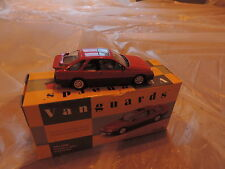 Corgi Vanguards Ford Sierra XR4I 1/43 rouge edition limite no RS cosworth