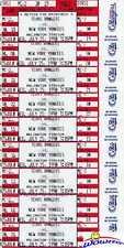 (9) Nolan Ryan Original Game Tickets MINT 7/25/1990 Unsuccessful for 300 Win