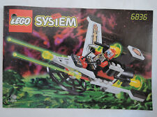 LEGO SYSTEM 6836 V-wing Fighte complet. + guide + personnage Top