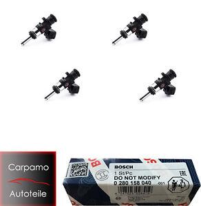 4x Bosch 980CCM Einspritzdüse EV14 Einspritzventil 0 280 158 040 0280158040
