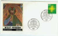 BRD FDC Ersttagsbrief 1970 Kath. Weltmission Mi.Nr.647