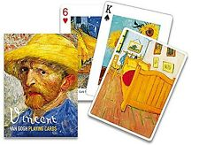 Vincent Van Gogh set of 52 playing cards + jokers (gib)