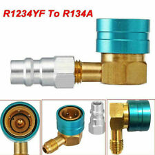 R1234YF to R134a Low Side Coupler Adapter Car A/C Air Conditioner Fitting Angle