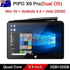 """32GB 8.9"""" Quad core PIPO X9 Pro TV Box Mini PC Windows 10 Android 4.4"""