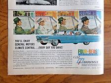 1963 GM Harrison Air Conditioning Ad  Cadillac
