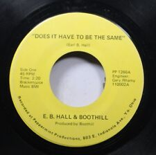 Hear! Private Rock Ohio 45 E.B. Hall & Boothill - Does It Have To Be The Same /