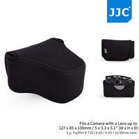 JJC Mirrorless Camera Pouch Case Bag fits Fujifilm X-T10 X-A3 A2 A1+16-50mm Lens