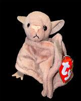 Original Ty Beanie Baby BATTY The Bat Style 4035 W/Tag (Bent) VTG