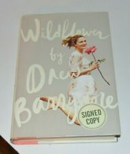 SIGNED Wildflower by Drew Barrymore Autographed First Edition Book RARE