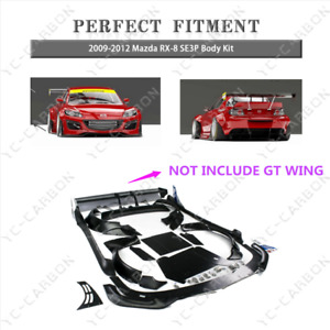 Fiber Glass PD RB Style Wide Body Kit For 2009-2012 Mazda RX-8 SE3P