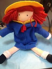 "Soft, Poseable ""Madeline"" Doll-1990-With Madeline Sized Cup-jp"