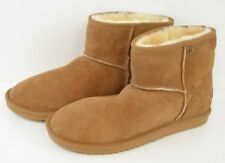 Koolaburra Chestnut Boots By UGG Size 11 US Women's Sheep  Skin and Real Fur