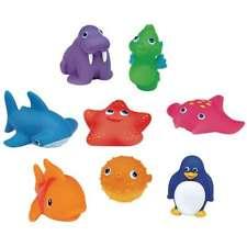 Munchkin Juguetes de Baño Animales Lanzachorros 8 Unidades Bebés Infantil