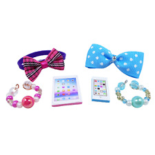 LPS Littlest Pet Shop Accessories Bows Necklaces Tablet Phone (NO PET)