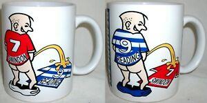 Funny Wee On Reading Swindon Coffee Tea Mug Football Shirt Fan Rivalry