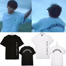 Kpop BTS Jungkook T-shirt Bangtan Boys Jung kook SAVE ME Tshirt Wings Tee Fire