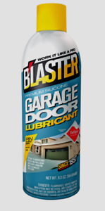Blaster Silicone GARAGE DOOR LUBRICANT Silicone Lube Teflon Stops Squeaks 16-GDL